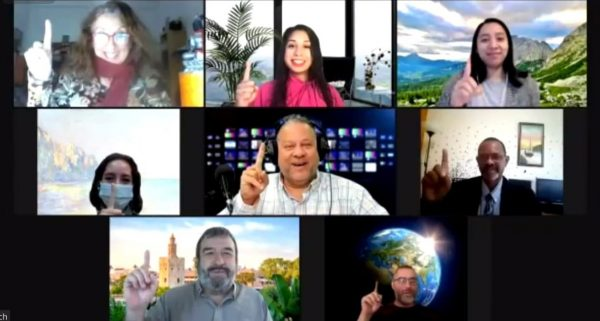 [hwpl] Participants Posing We Are One Together