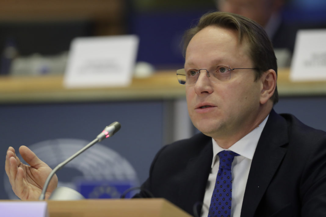 European Commissioner-designate in charge of neighborhood and enlargement policy Oliver Varhelyi